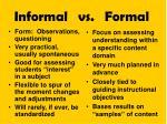 informal vs formal