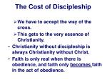 the cost of discipleship10