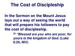 the cost of discipleship11