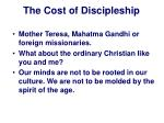 the cost of discipleship12