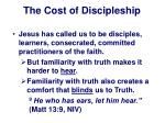 the cost of discipleship4