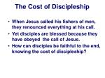 the cost of discipleship8
