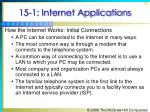 15 1 internet applications16