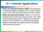 15 1 internet applications8