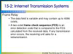 15 2 internet transmission systems20