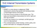 15 2 internet transmission systems26