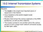 15 2 internet transmission systems28