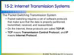 15 2 internet transmission systems36