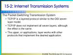 15 2 internet transmission systems37