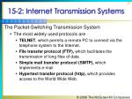 15 2 internet transmission systems38