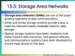 15 3 storage area networks