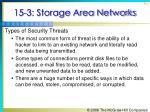 15 3 storage area networks62