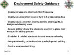 deployment safety guidance