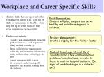 workplace and career specific skills22