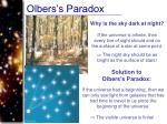 olbers s paradox