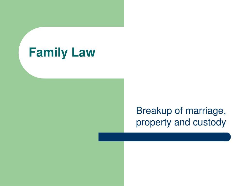 family law l.