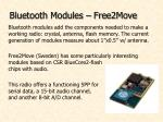bluetooth modules free2move