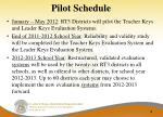 pilot schedule16
