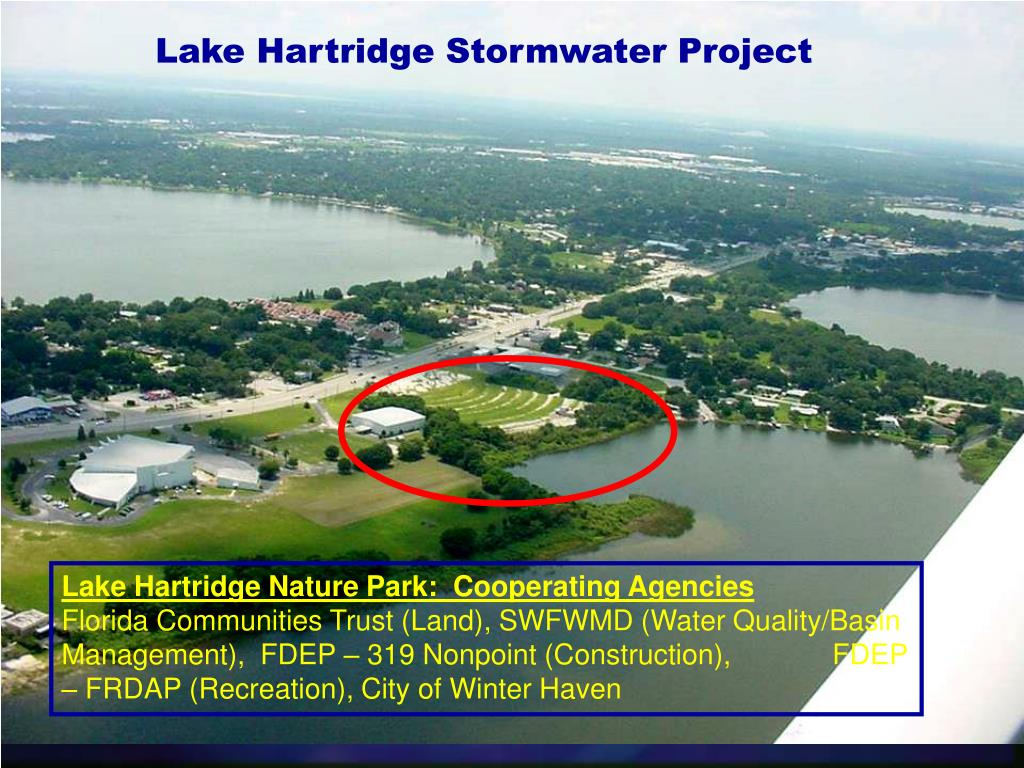 Lake Hartridge Stormwater Project