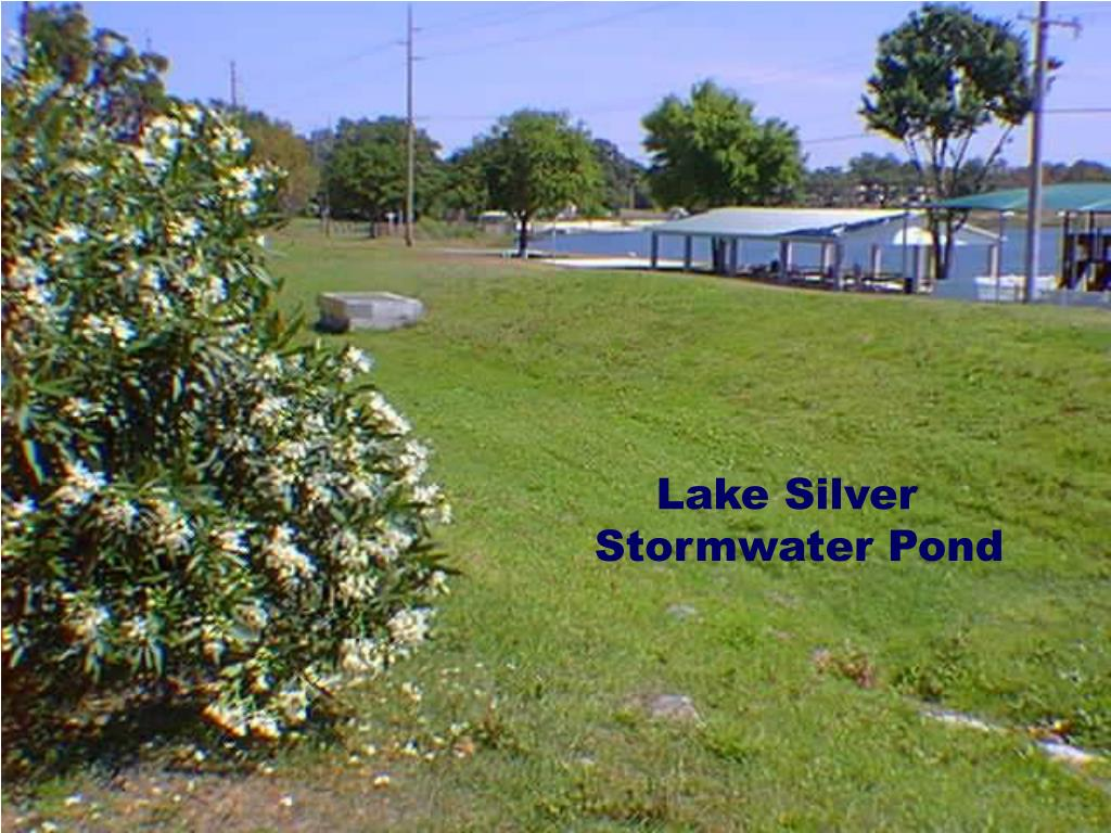 Lake Silver Stormwater Pond