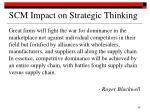 scm impact on strategic thinking38