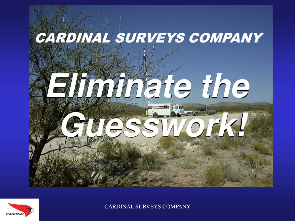 cardinal surveys company l.
