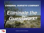 cardinal surveys company48