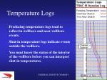 temperature logs