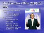 chief executive officer ceo of ebay