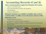 accounting records cont d11