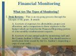 financial monitoring27