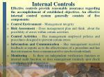 internal controls5