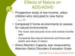 effects of nature on add adhd34