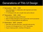 generations of tivo ui design