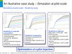 an illustrative case study simulation at pilot scale20