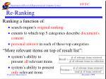re ranking