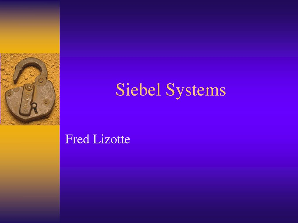 siebel systems l.