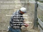 iv livestock protection components11