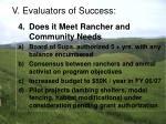 v evaluators of success23