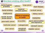 how does smoking affect health16