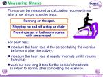 measuring fitness9