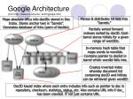google architecture from http www ics uci edu scott google htm2