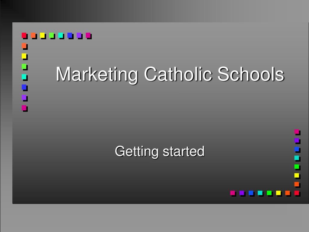marketing catholic schools l.