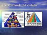 food pyramid old vs new