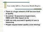 case study qm in a tanzanian health region77