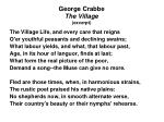 george crabbe the village excerpt