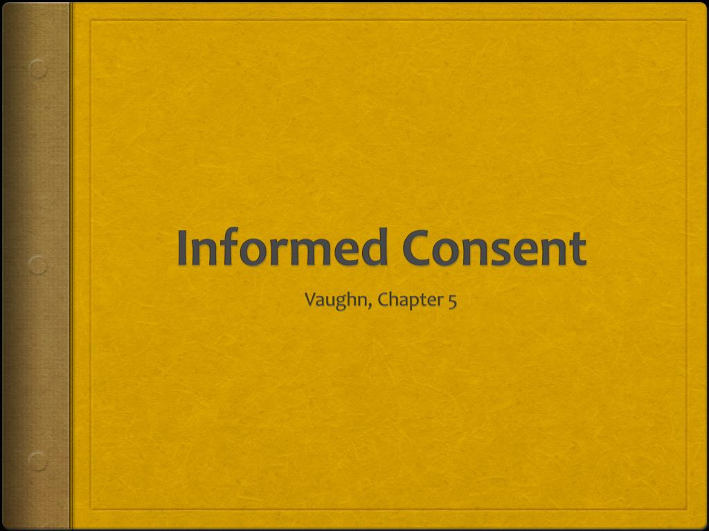 informed consent l.