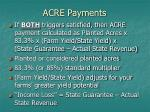 acre payments