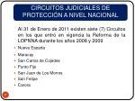 circuitos judiciales de protecci n a nivel nacional11