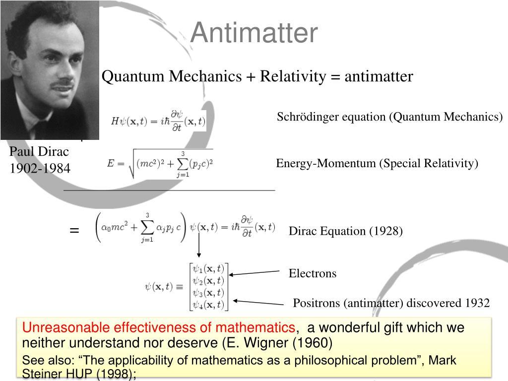Schrödinger equation (Quantum Mechanics)